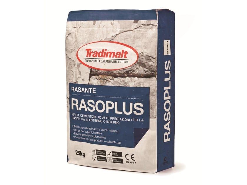 Smoothing compound RASOPLUS BIANCO by TRADIMALT