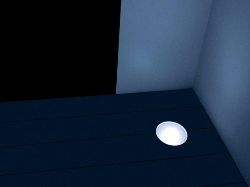 LED walkover light steplight RASOTERRA by DAVIDE GROPPI
