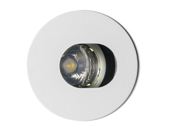 Ceiling metal spotlight RASTAF 86 LED ROUND by Artemide