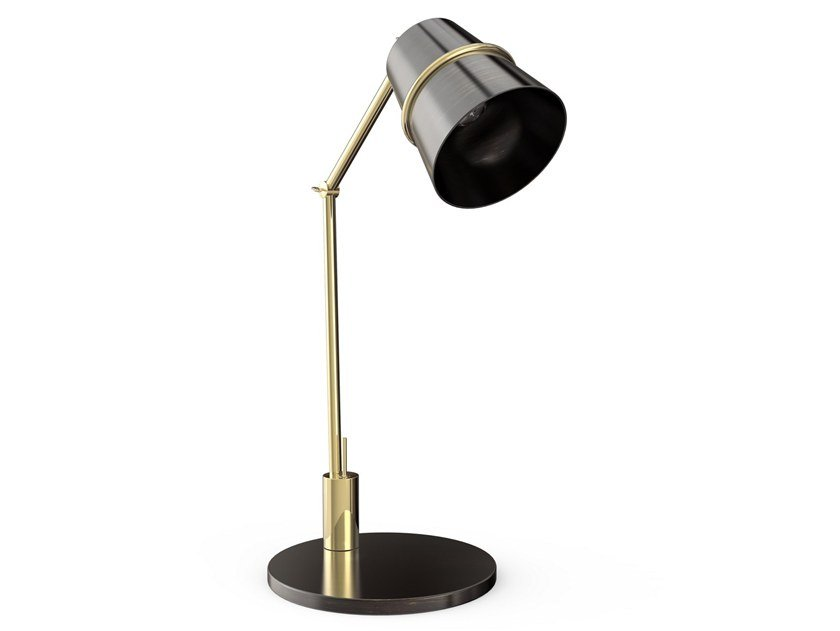 With swing arm brass desk lamp RAVAL | Desk lamp by Creativemary