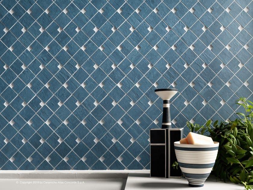 Full-body porcelain stoneware mosaic RAW | Mosaic by Atlas Concorde