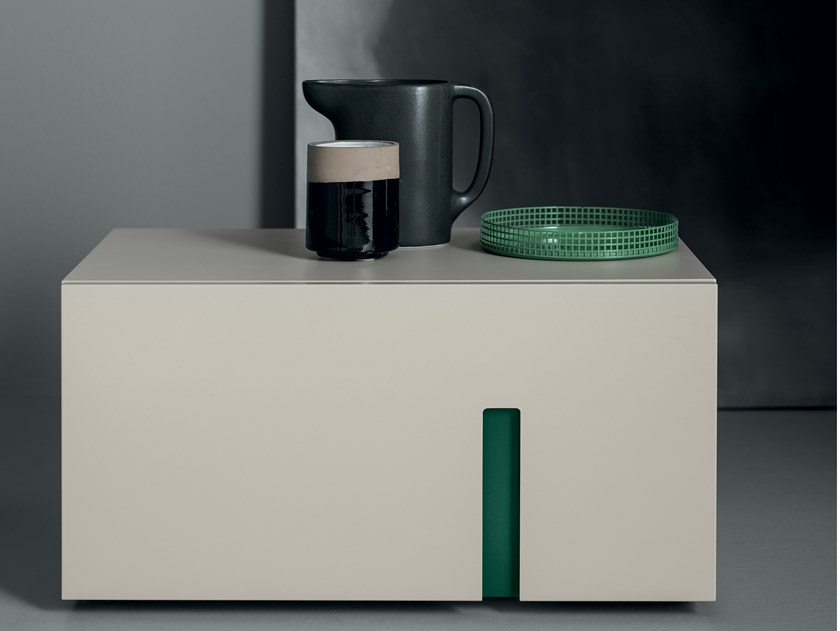 Lacquered bedside table RAY | Bedside table by Md House