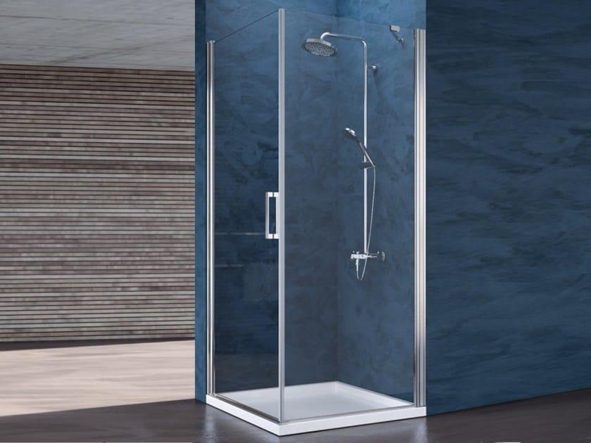 RAY | Corner shower cabin By Blu Bleu
