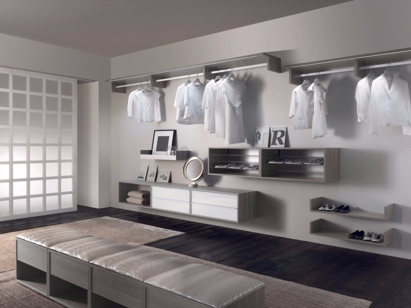 Sectional walk-in wardrobe RAY by RES