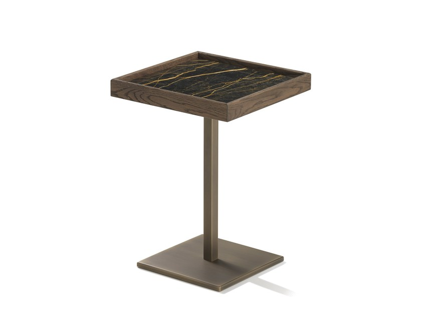 Square side table RAY by L'Origine