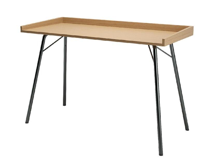 Wood veneer secretary desk RAYBURN by Woodman