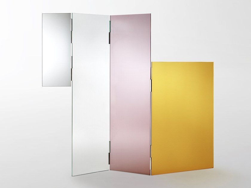 Crystal Screen RAYURES by Glas Italia