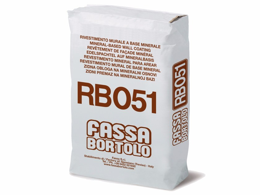 Hydraulic and hydrated lime based plaster RB 051 by FASSA