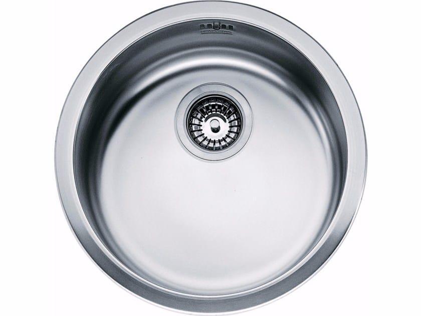 Lavello a una vasca sottotop in acciaio inox RBX 110-38 by FRANKE