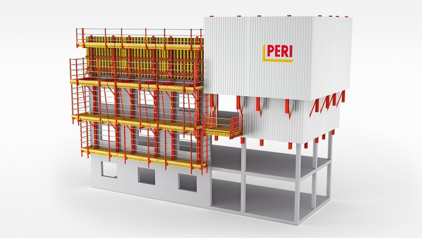 Collective protective equipment RCS by PERI