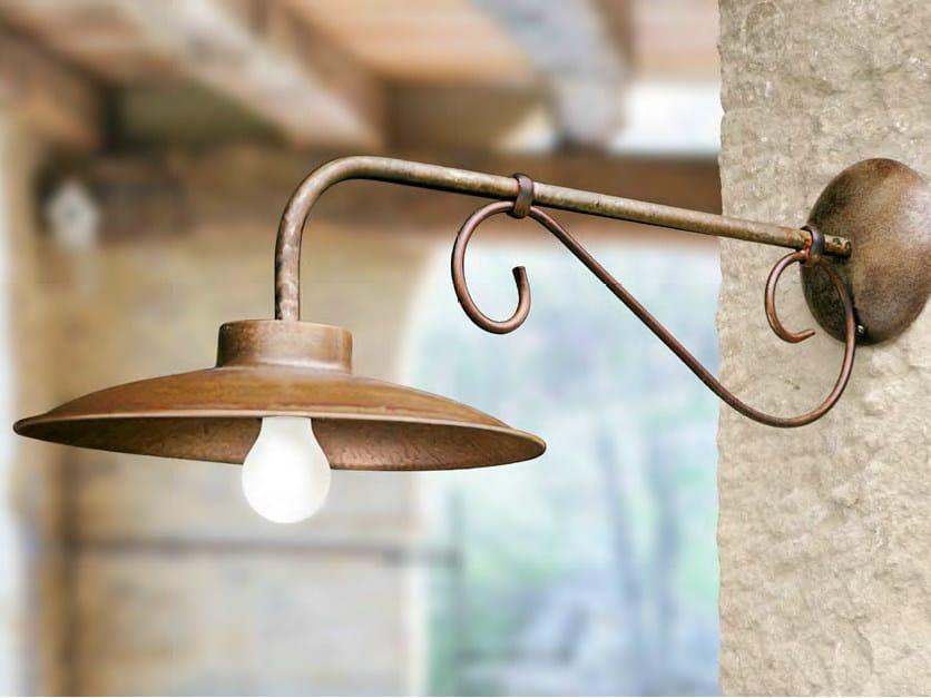 Direct-indirect light metal wall lamp RE LEAR | Metal wall lamp by Aldo Bernardi