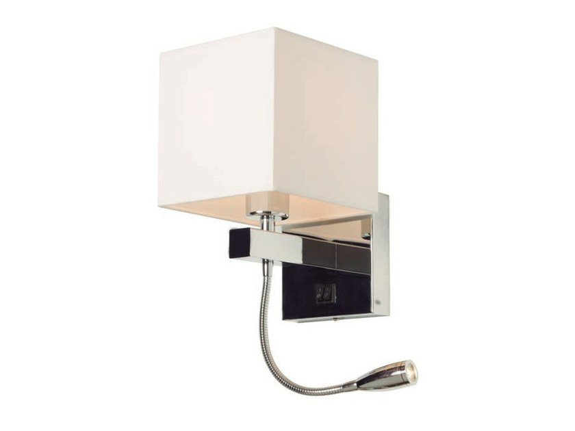 LED metal reading lamp with swing arm READ by Aromas del Campo