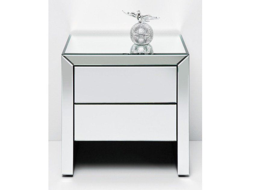 Bedside table with drawers REAL DREAM by KARE-DESIGN