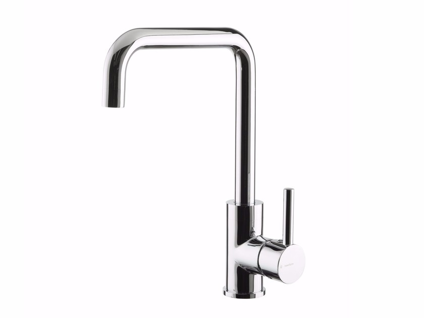 Countertop kitchen mixer tap with swivel spout REAL | Kitchen mixer tap by newform