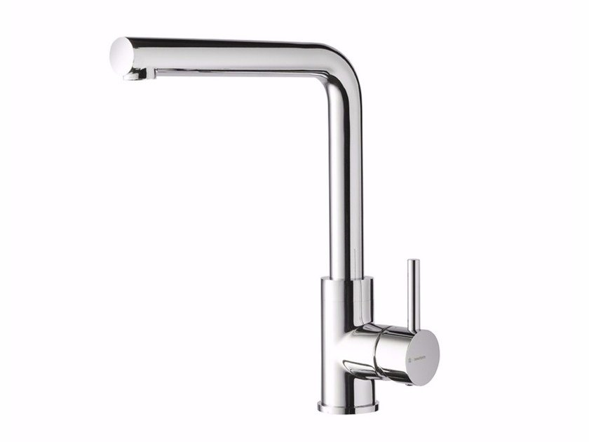 Countertop kitchen mixer tap with swivel spout REAL | Kitchen mixer tap with swivel spout by newform
