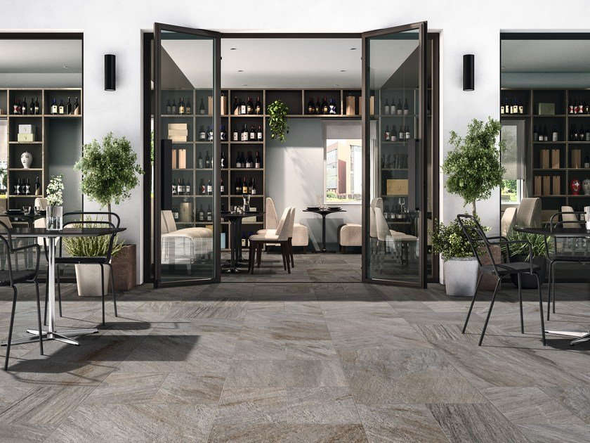 Indoor/outdoor porcelain stoneware wall/floor tiles REALSTONE by Ragno