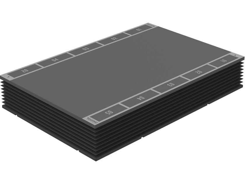 Pavimento brevettato intelligente per allenamento REAX BOARD CLUB by REAXING
