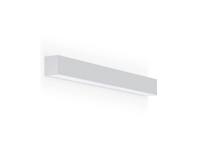 Wall-mounted linear lighting profile REBA 65 /P LED by INDELAGUE | ROXO Lighting