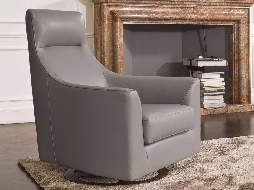 Swivel armchair with armrests REBECCA | Swivel armchair by CTS SALOTTI : rebecca chair - Cheerinfomania.Com