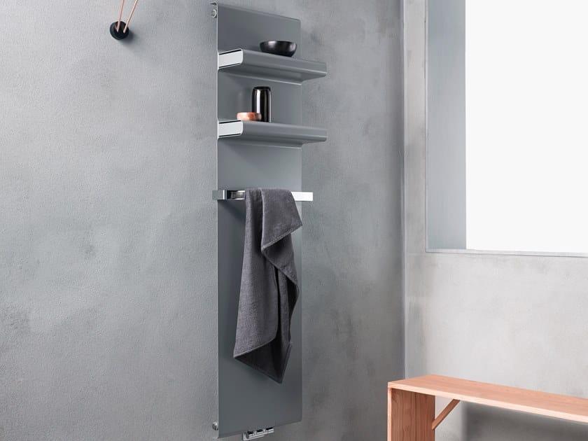 Carbon steel panel radiator REBEL by Caleido