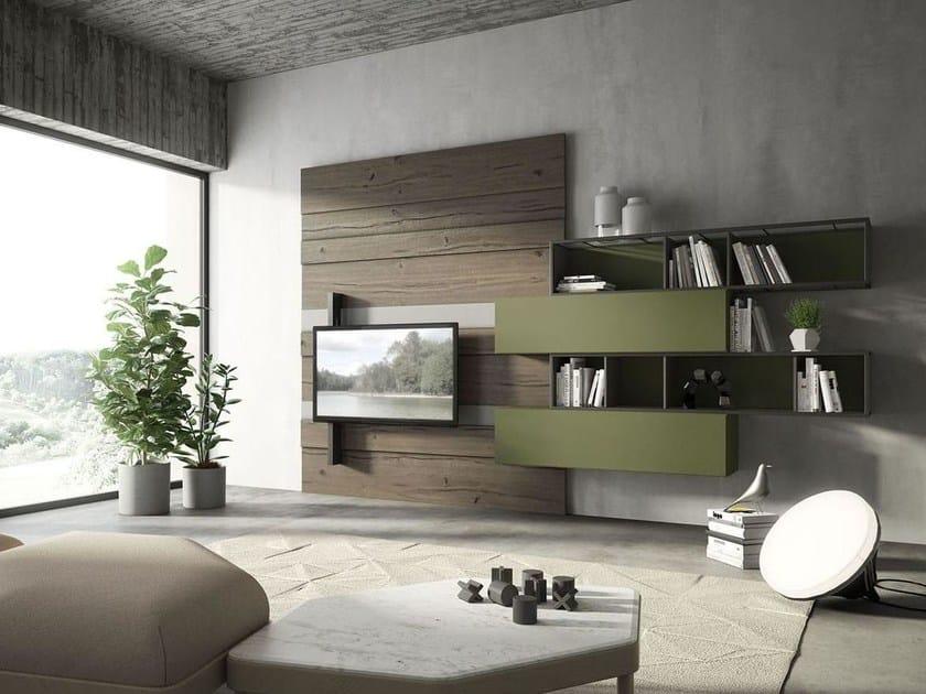 Storage wall REBEL R_01 by Fimar