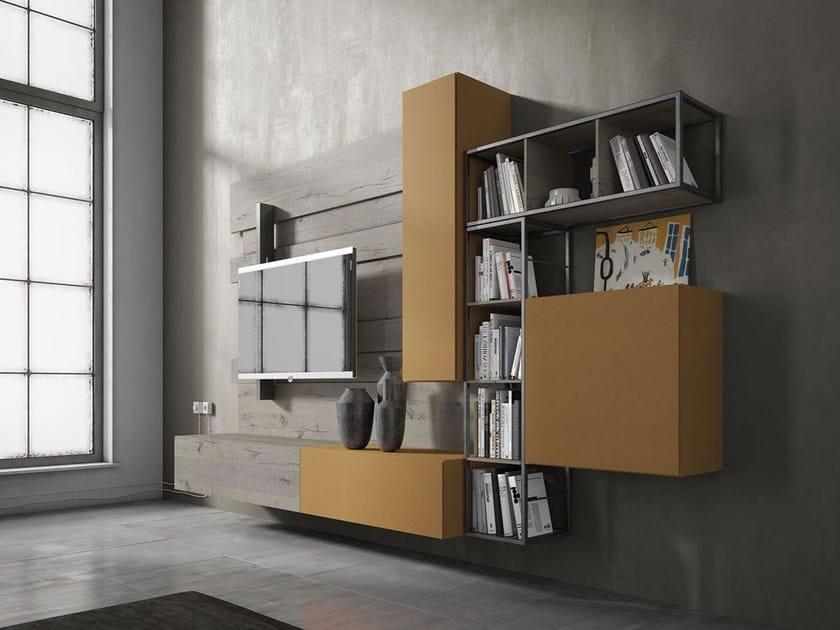 Storage wall REBEL R_02 by Fimar