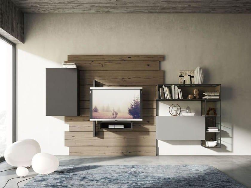 Storage wall REBEL R_03 by Fimar