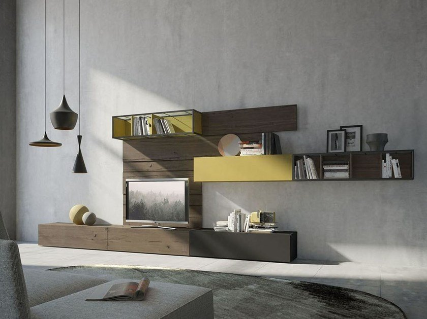Storage wall REBEL R_05 by Fimar