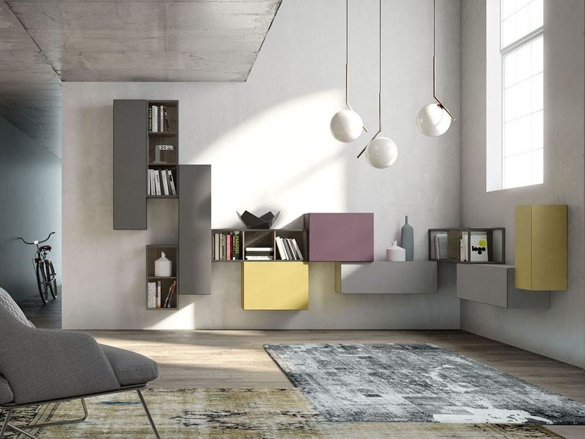 Storage wall REBEL R_10 by Fimar