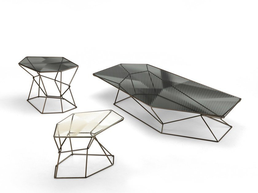 Coffee table for living room REBUS by Arketipo