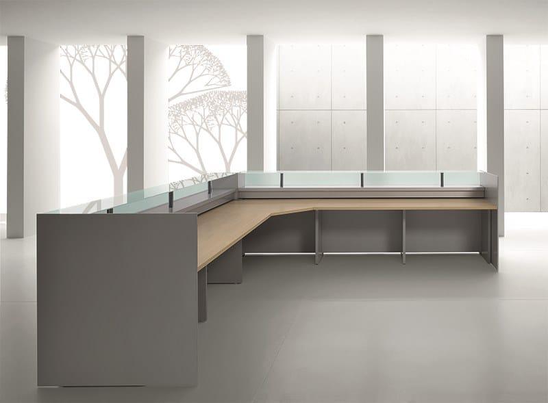 Reception banco reception per ufficio by mascagni for Reception ufficio