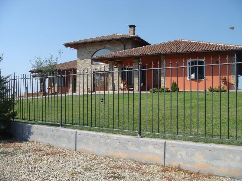 Railing fence RECINTHA® GIGLIO by NUOVA DEFIM