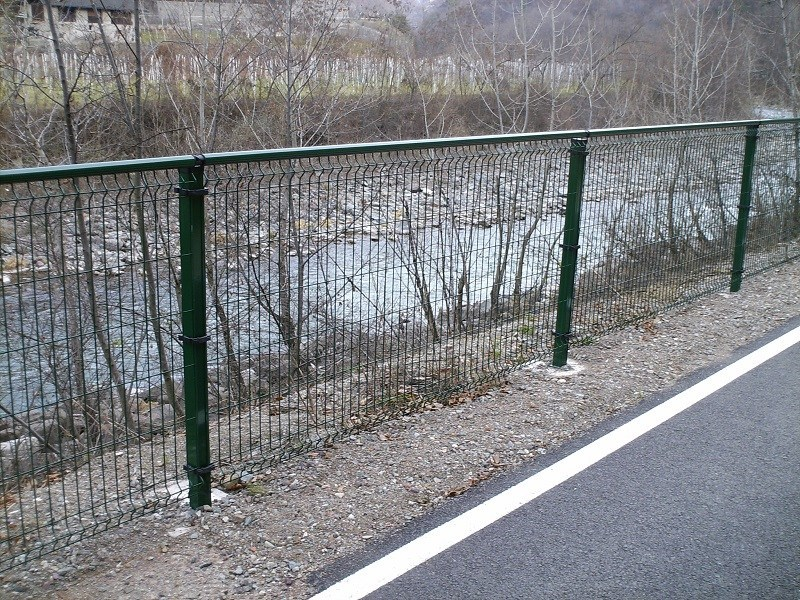 Welded mesh fence RECINTHA® P.G. by NUOVA DEFIM