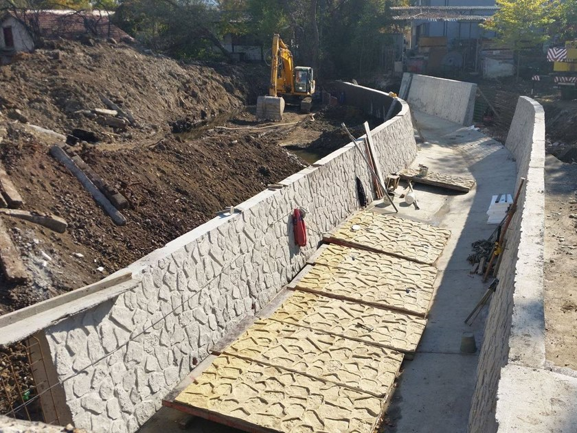 Matrice per parete facciavista in calcestruzzo RECKLI® by COPLAN