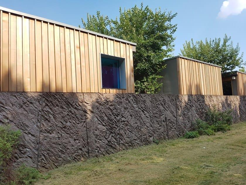 Matrix for fair faced concrete wall RECKLI® | Matrix for fair faced concrete wall by COPLAN