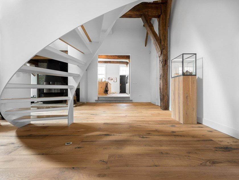 Reclaimed wood parquet RECLAIMED by Dennebos Flooring