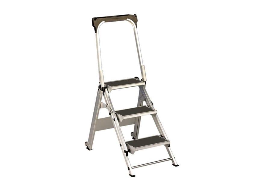 Folding aluminium step stools RECORD by SVELT