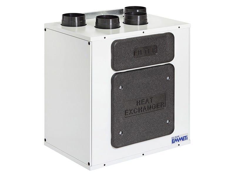 Mechanical forced ventilation system RECUPERA MED   Mechanical forced ventilation system by EMMETI