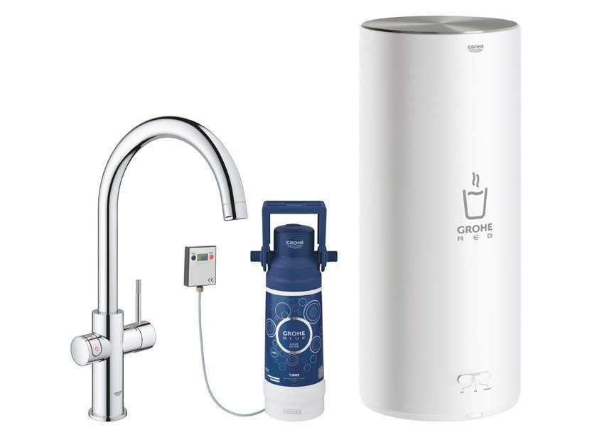 Kitchen tap / water dispenser RED II 30079001 | Kitchen mixer tap by Grohe