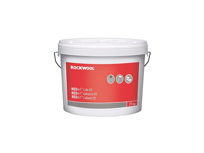 Glue and mastic REDArt™ Collante DS by Rockwool Italia