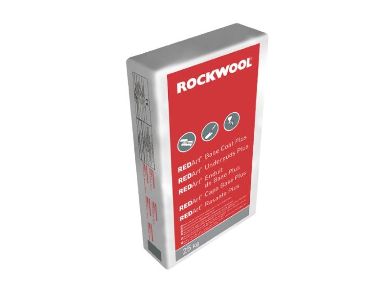 Mortar for masonry REDArt™ Rasante Plus by Rockwool Italia