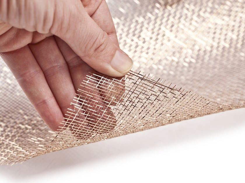 Bronze Metal fabric and mesh REFLECT BRONZE by MeshArt™