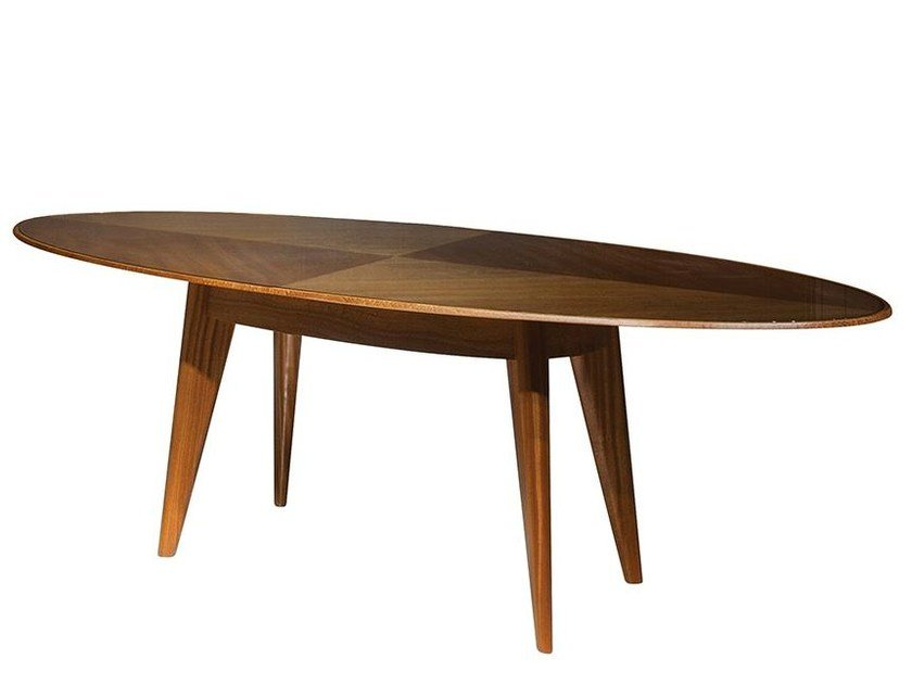 Oval dining table REFLECT | Dining table by Mobi