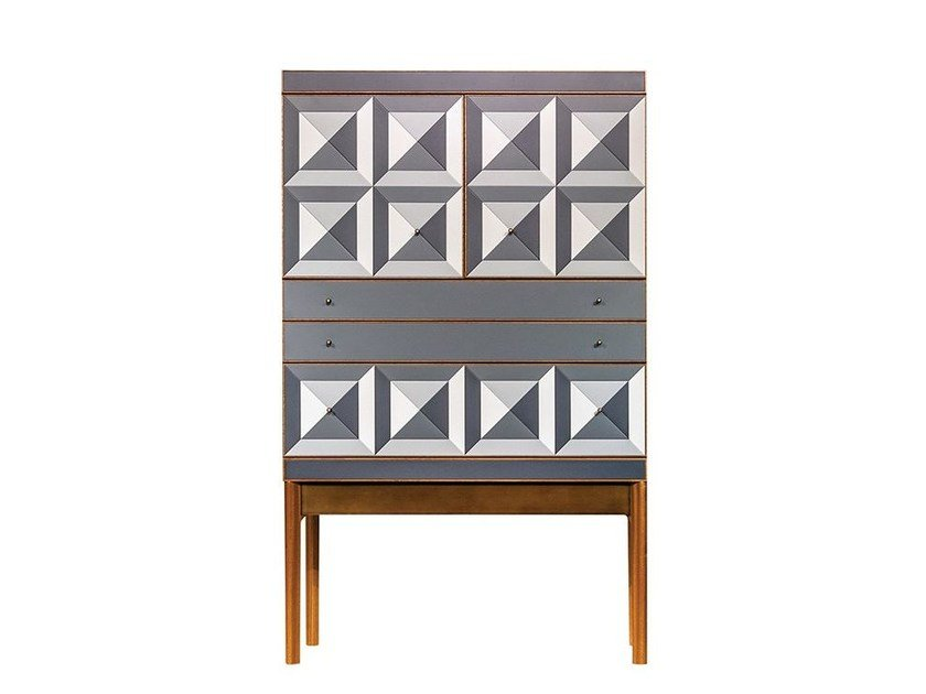 Lacquered highboard REFLECT | Highboard by Mobi
