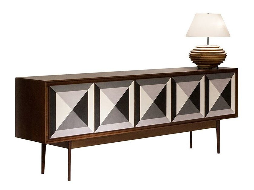 Lacquered sideboard REFLECT | Sideboard by Mobi