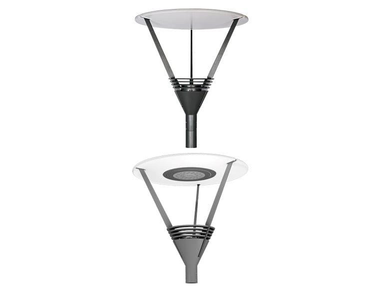 Testa palo a LED in alluminio REFLEX by GHM-ECLATEC