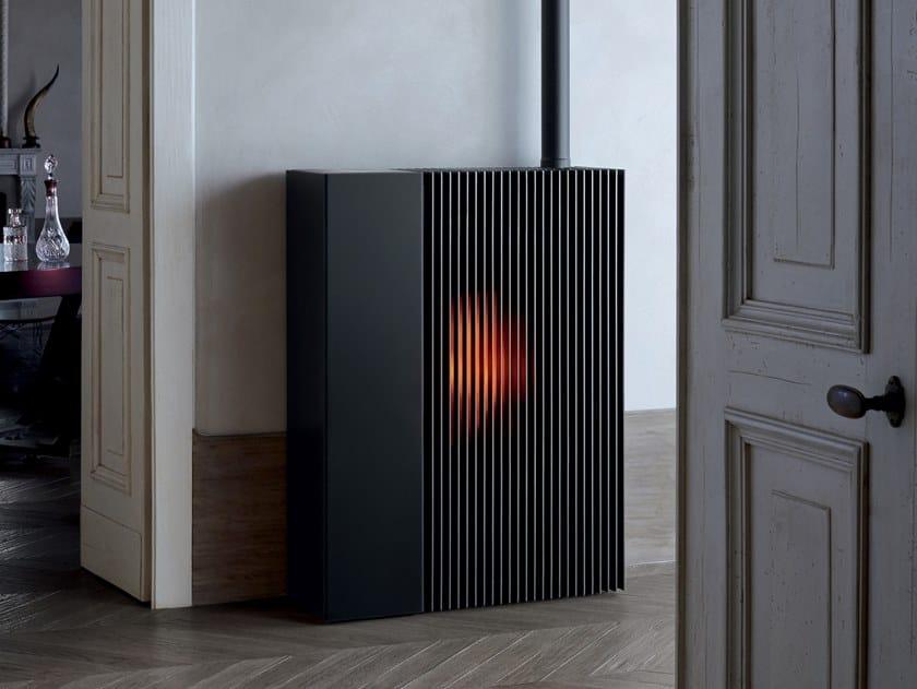 Stufa a pellet per riscaldamento aria REFLEX by MCZ