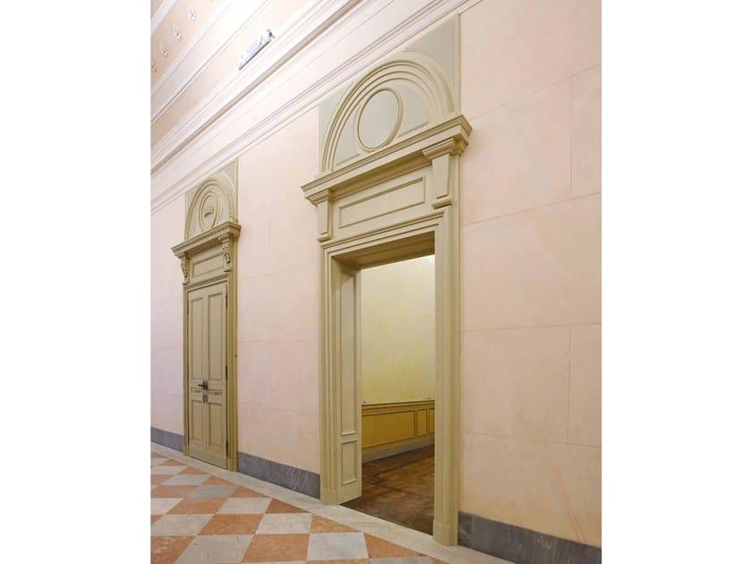 Hinged wooden door REGGIA by Arnaboldi Interiors