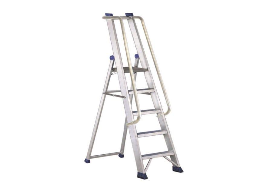 Aluminium heavy duty ladder REGINA VIP by SVELT