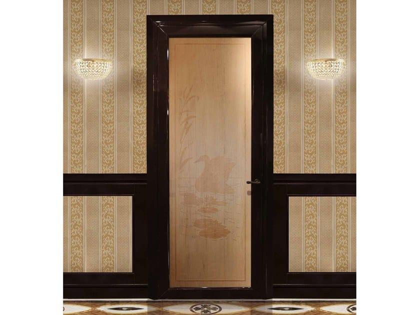 Porta a battente in cedro REGOLO by Arnaboldi Interiors
